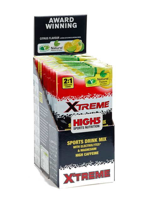 High5 EnergySource X'tream Drink Box Lemon 12 x 47g